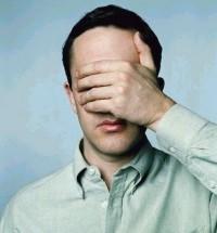 Cegueira espiritual é pior do que cegueira física.