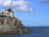 Casa edificada na rocha